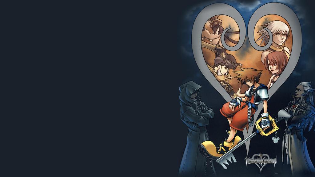 Kingdom Hearts wallpaper 2 by greenlamia
