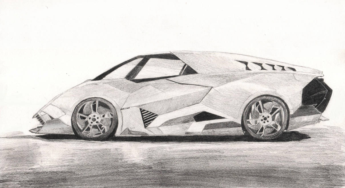 Lamborghini Egoista By Ji Zon On Deviantart