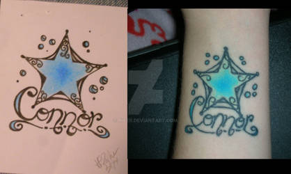 Connor tattoo and Design