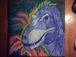 psicodelic tyrannosaurus