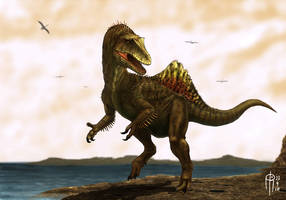 Concavenator corcovatus 'Pepe' by JELSIN