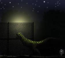 carnotaurus bizarre by JELSIN