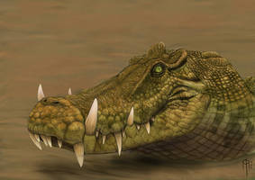 kaprosuchus by JELSIN