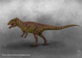 Carcharodontosaurus by JELSIN