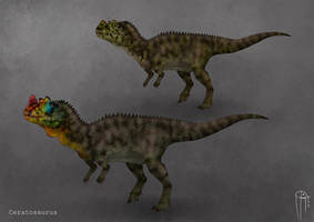 Ceratosaurus dentisulcatus by JELSIN