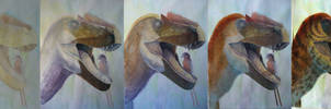 yutyrannus confuciusornis process by JELSIN
