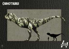 JP Carnotaurus remake by JELSIN