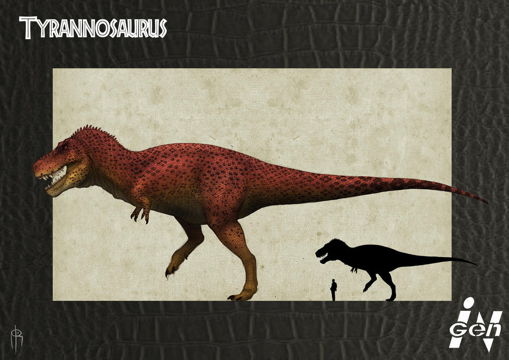 JP Tyrannosaurus remake by JELSIN