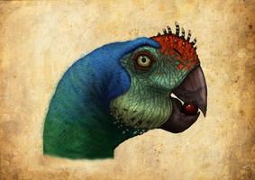 ovirraptor parrot by JELSIN
