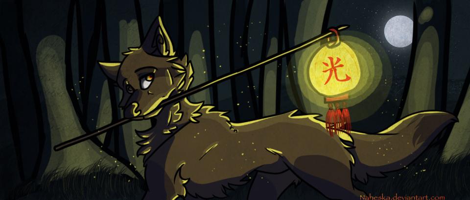 -I'll bring the light- by Naheska