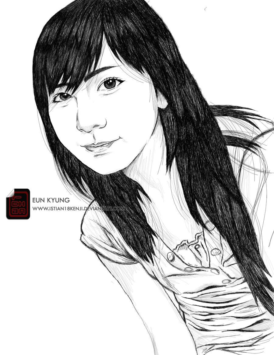 Eun Kyung by istian18kenji