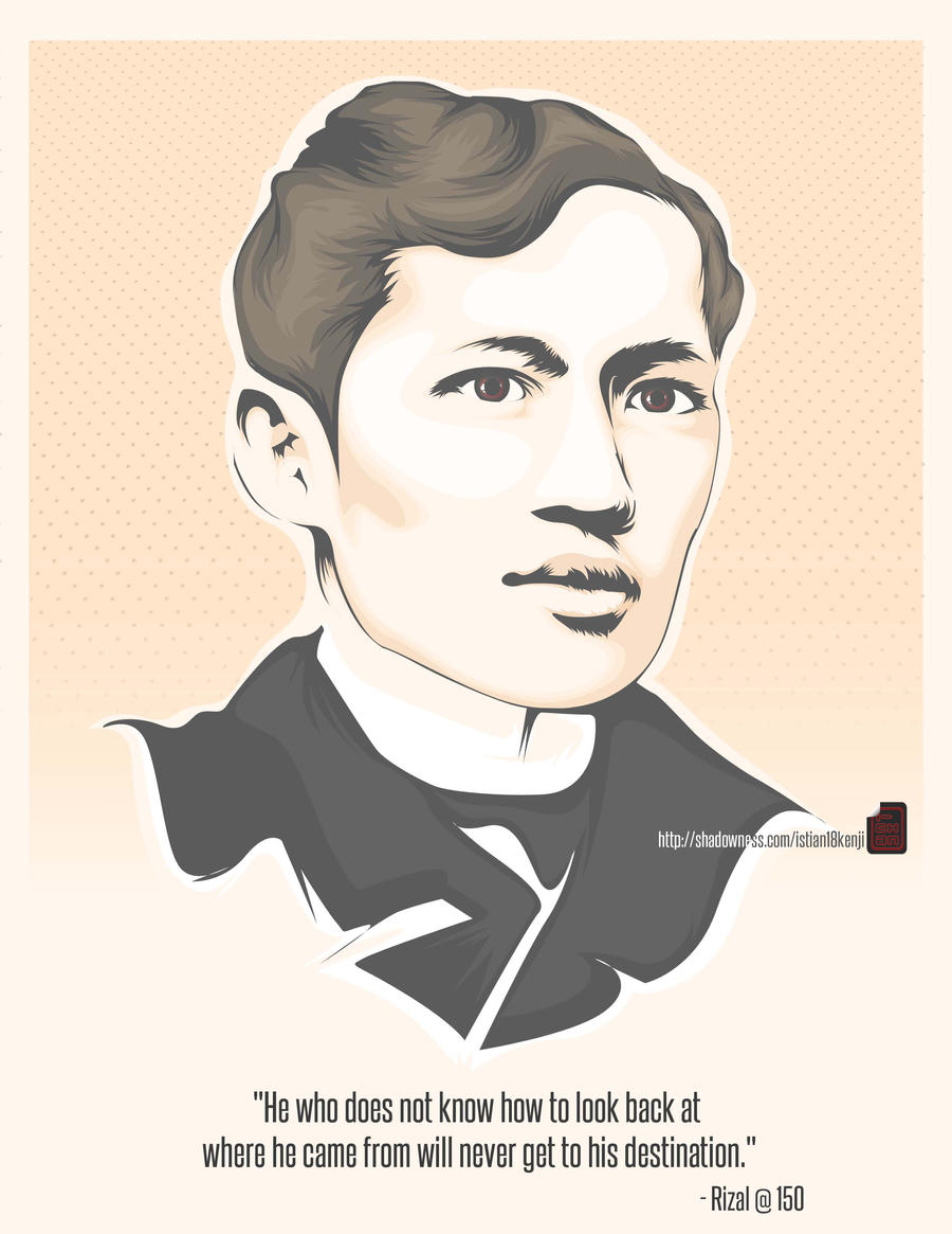 the speech of jose rizal The speech was rizal's toast to the triumph of juan luna's spolarium and felix hidalgo's las virgenes cristianas expuestas al populacho in their work of arts whose works illuminates two ends of the globe: east and west (spain and the philippines).
