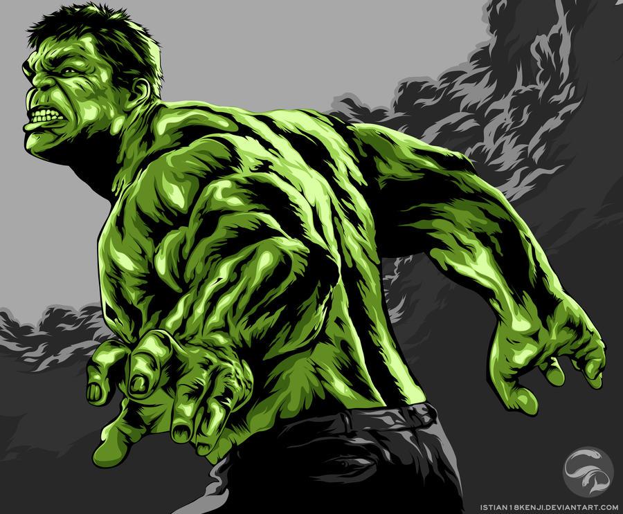 incredible hulk art gallery - photo #1