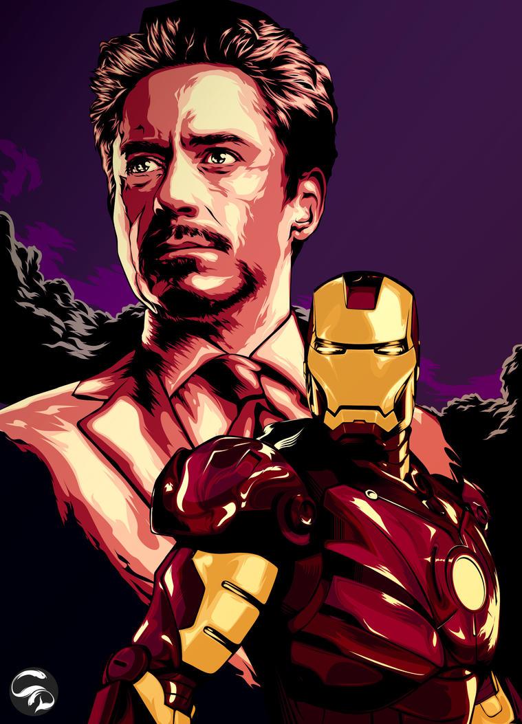 Tony Stark is IRONMAN by istian18kenji