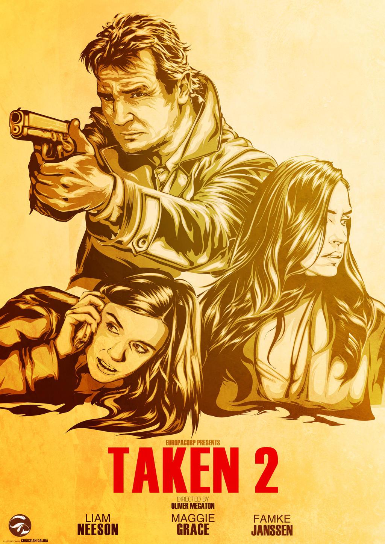 TAKEN 2 Poster by istian18kenji