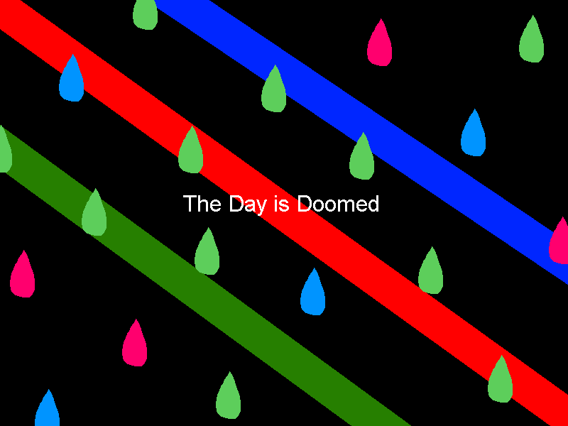 The Day is Doomed Title by PPGcomic