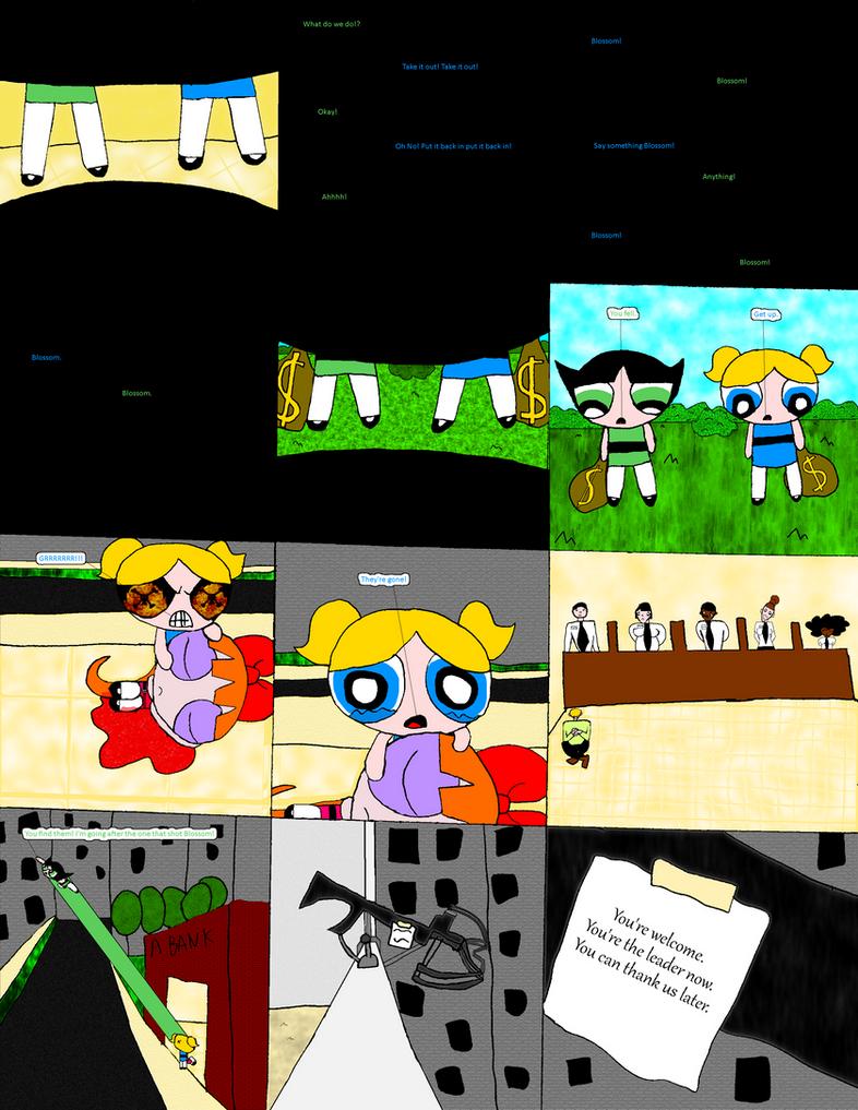 A Fallen Blossom 4 by PPGcomic