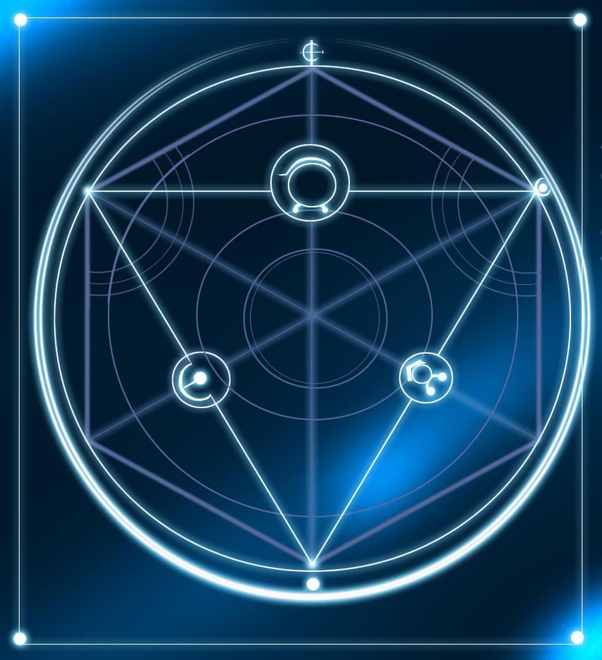 Alchemy Circle by silvericywolf