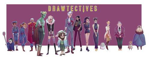 Drawfee/ Drawtectives fanart