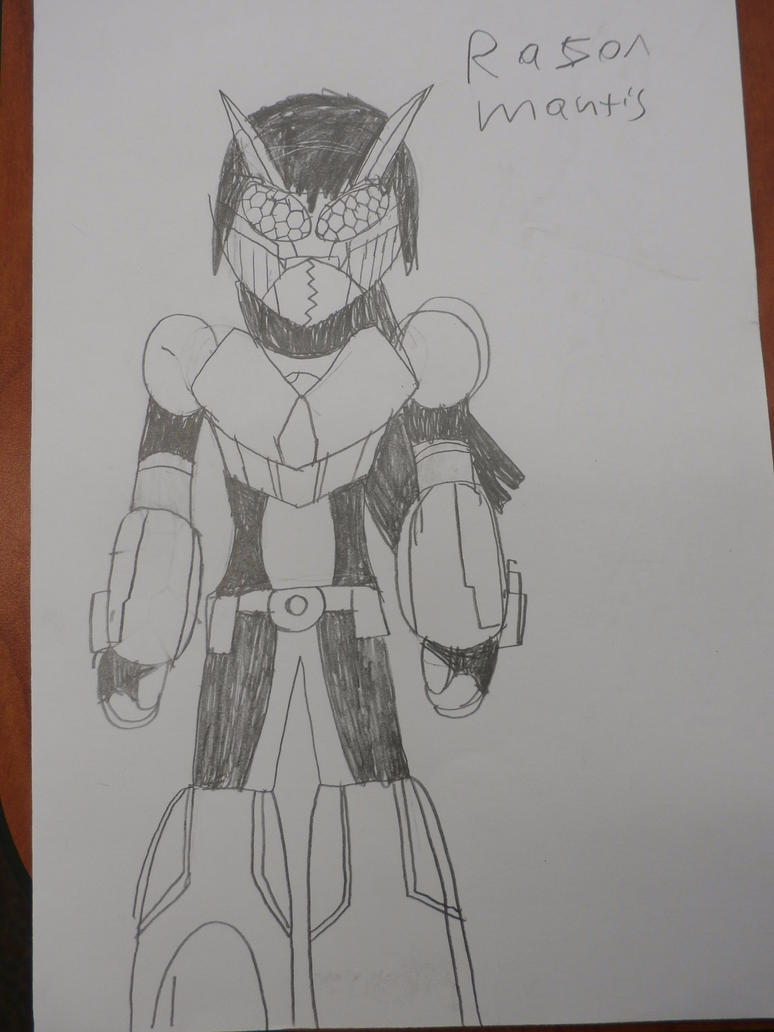 Razor Mantis by firebyte27