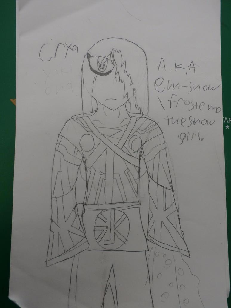 Crya the demon by firebyte27