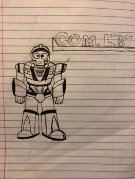 Commander Laserbolt