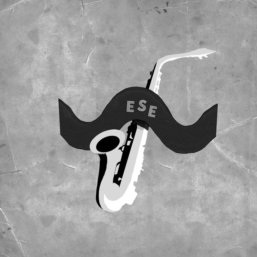 Saxophone Logo by vloweer