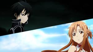 Asuna y Kirito