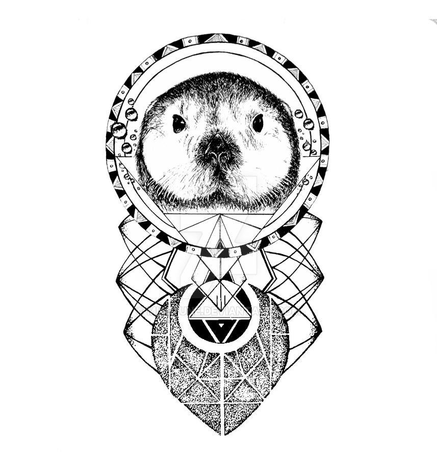 The Sea Otter Tattoo Design By Miletune On DeviantArt