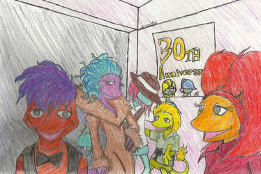 Fraggles Celebrity Style by mohnman
