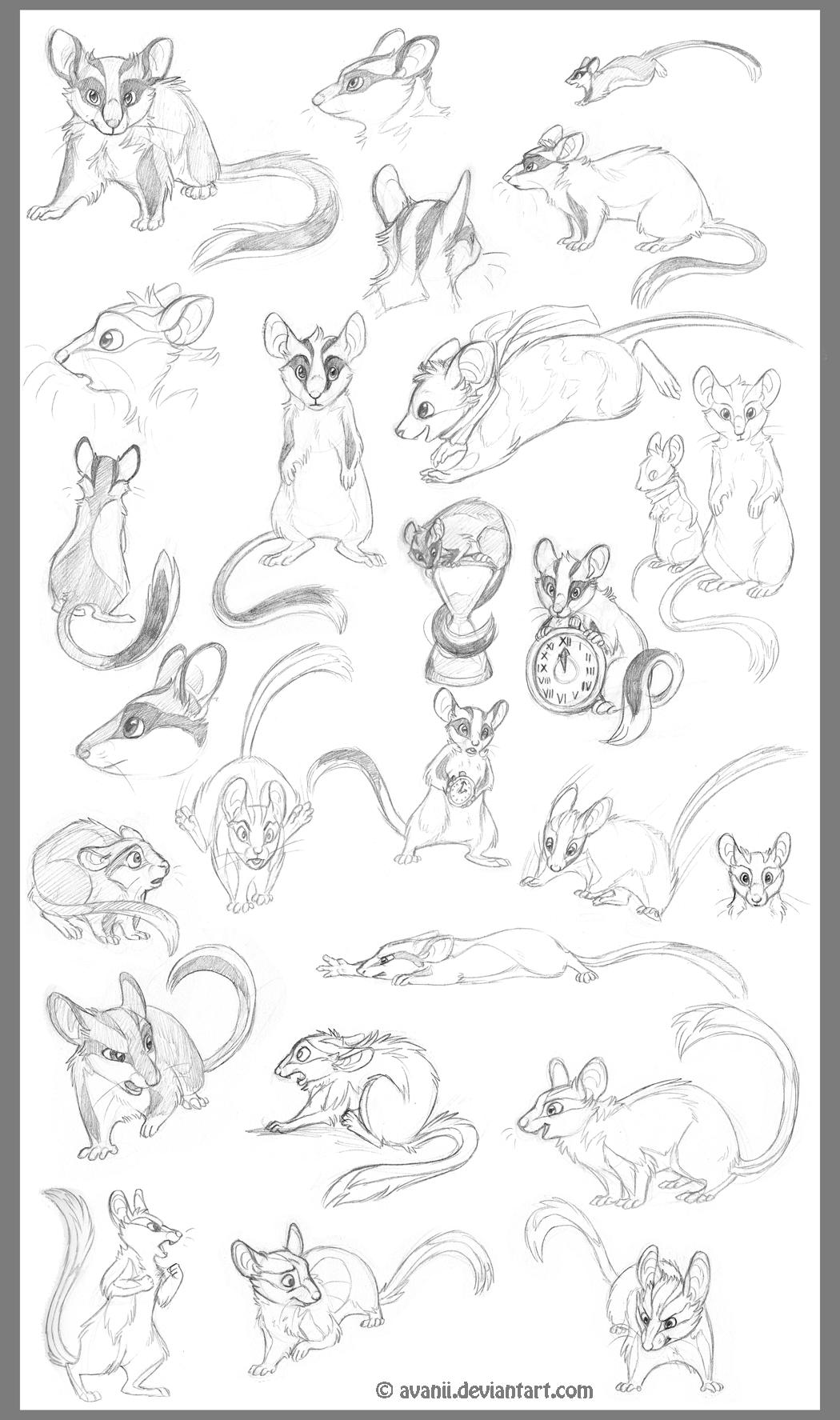 Sketchdump: Mortimer by Avanii