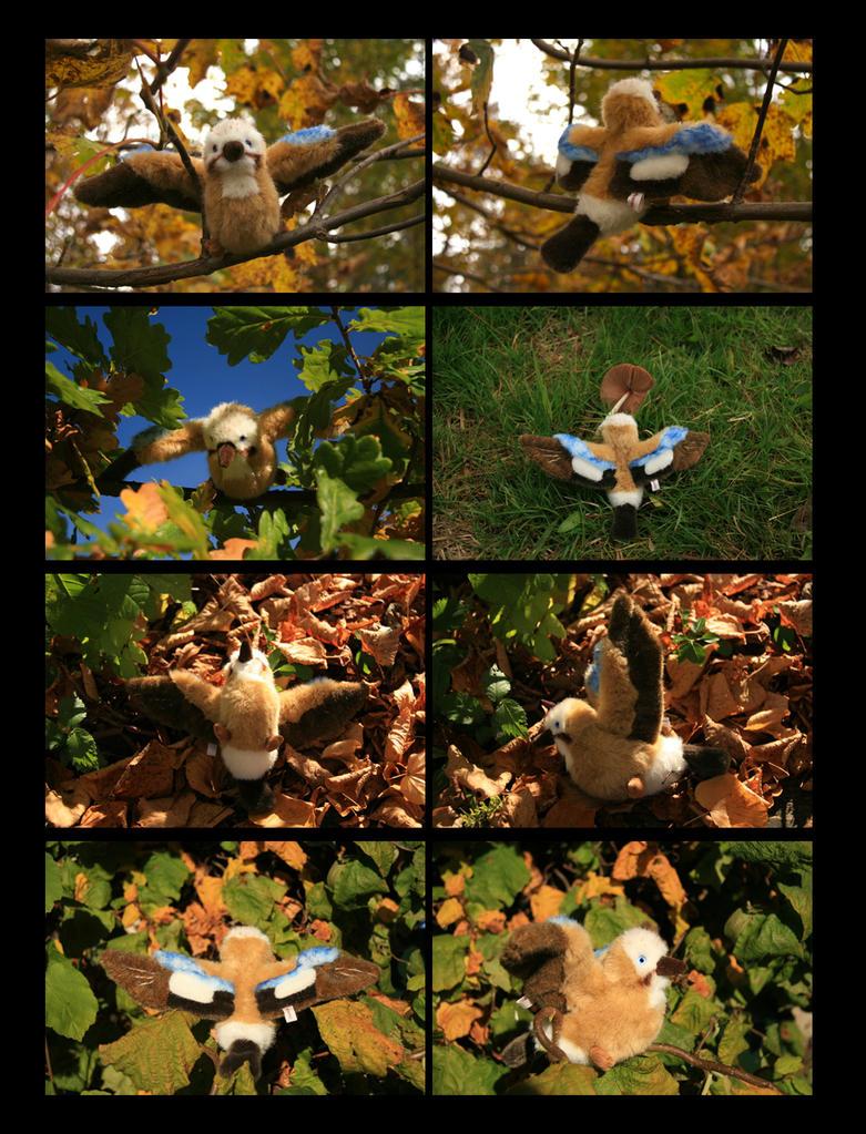 Plushie: Gary the Eurasian Jay Bird by Avanii
