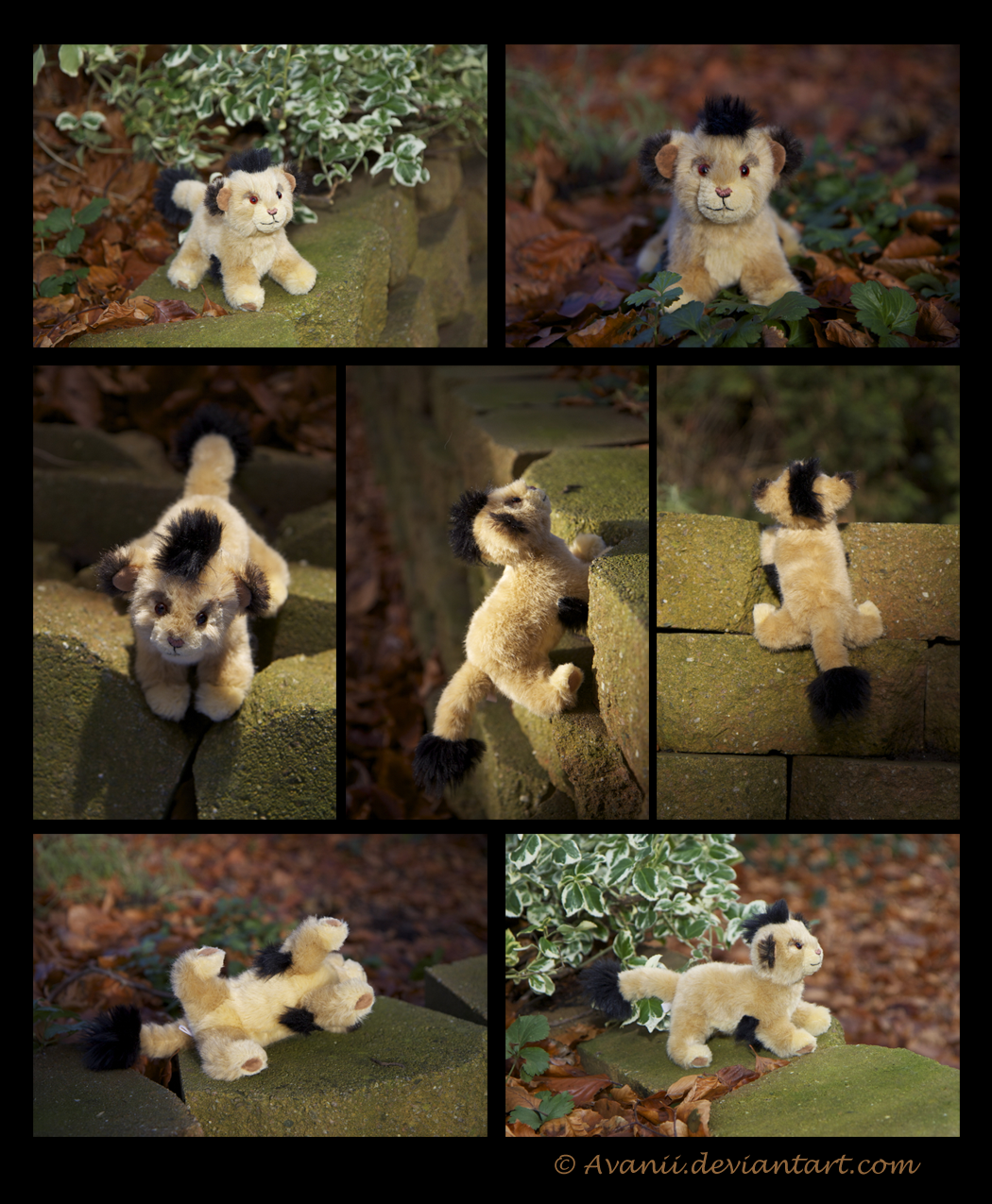Plushie Commission: Malka the Lion Cub by Avanii