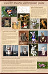 Plushie Commission Guide 2013 by Avanii