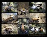 Plushie: Jacke the Fox (OC)