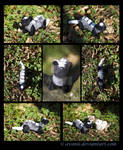 Plushie Commission: Belster the Ferret