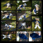 Plushie Commission: Pigeon the Winged Dog