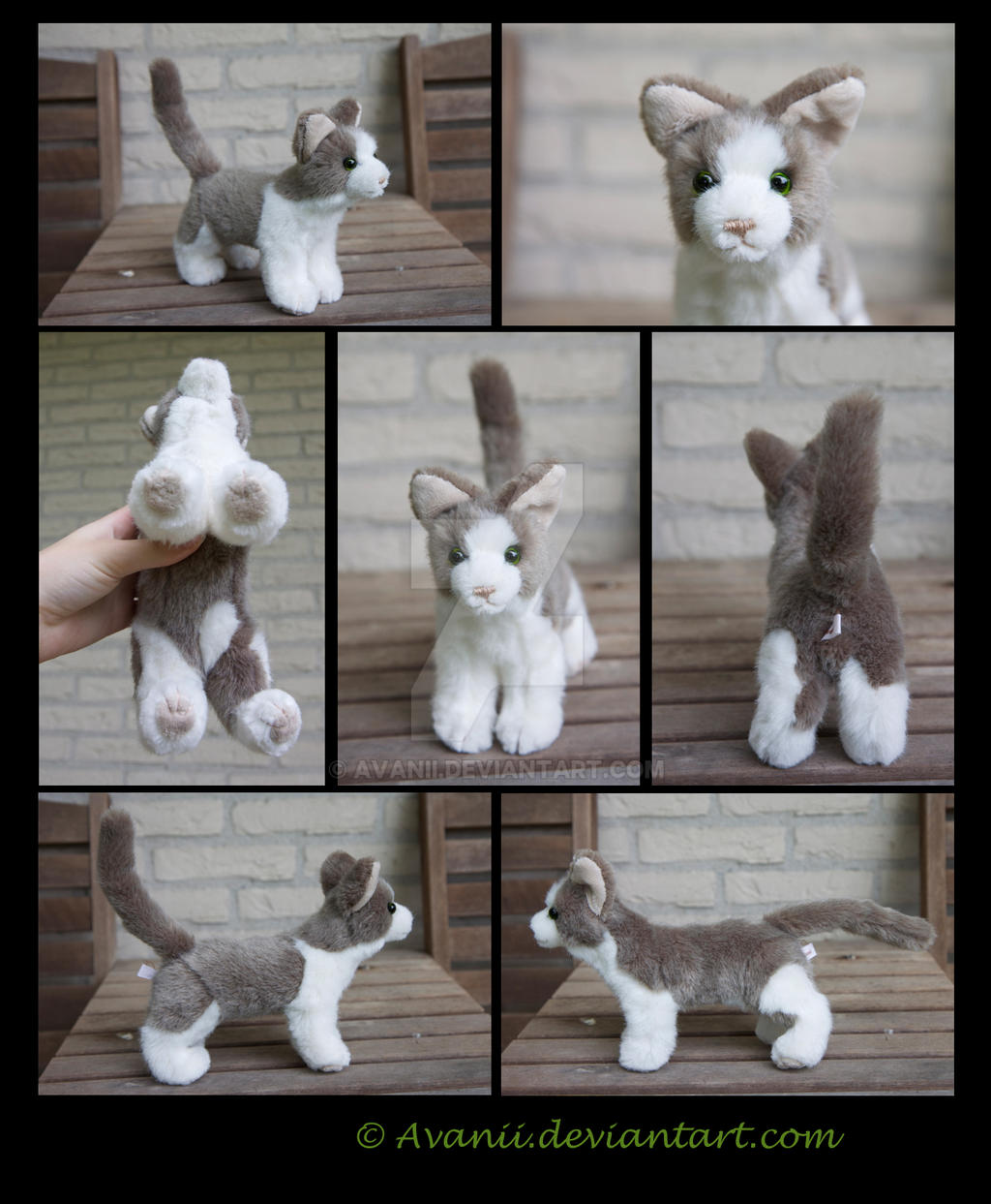 Plushie Commission: Holly the Cat by Avanii