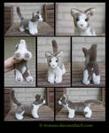Plushie Commission: Holly the Cat