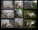 SOLD Plushie: Tolinka the Coyote