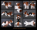 Plushie Commission: Traveller the Dog