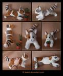 Plushie Commission: Bienie the Cat
