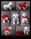 Plushie Commission: Deveras the Puppy