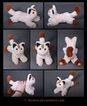 Plushie Commission: Meowth 2 Pokemon