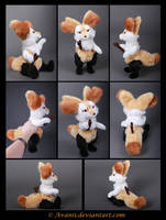 Plushie Commission: Braixen the Pokemon by Avanii