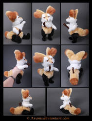 Plushie Commission: Braixen the Pokemon by Avanii