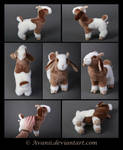 FOR SALE Billy the Goat Plushie