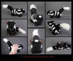 Plushie Commission: Spotted Skunk