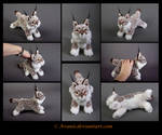 SOLD Plushie: Ambra the Lynx