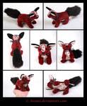 SOLD Plushie: Nooram the Fox Beanie
